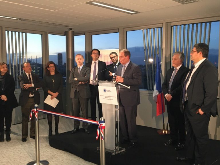 Inauguration du nouveau siège de la Métropole du Grand Paris