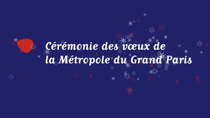 Cérémonie des voeux de la Métropole du Grand Paris